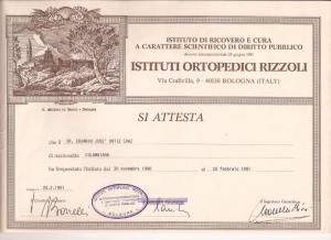 Instituto Ortopedico Rizzoli